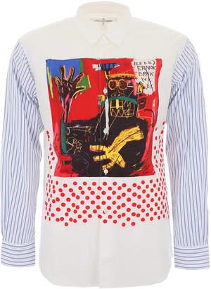 Comme des Garcons Basquiat Print Shirt