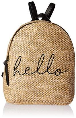 T-Shirt & Jeans Straw Hello Back Pack