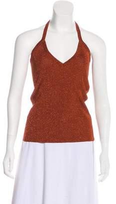Dolce & Gabbana Knit Rib Halter Top