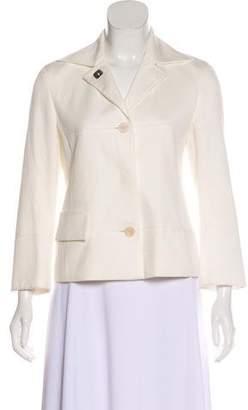 Akris Punto Crop Textured Blazer