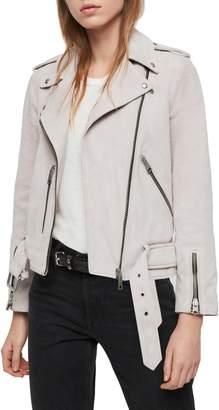 b6849f6eb6 Womens Purple Suede Jacket - ShopStyle