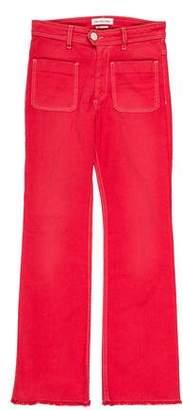 Etoile Isabel Marant Mid-Rise Wide-Leg Jeans