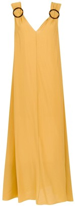 Adriana Degreas embellished long dress