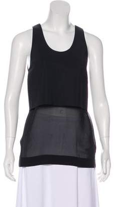 Dion Lee Layered Cutout Top