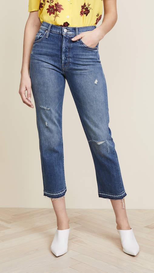 The Tomcat Undone Hem Jeans