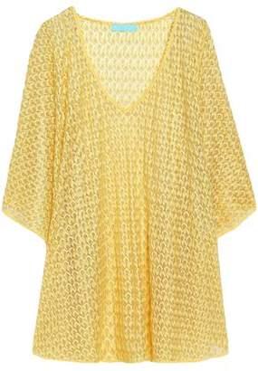 Melissa Odabash Crochet-Knit Kaftan