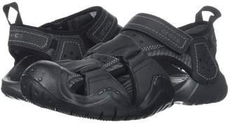 Crocs Swiftwater Leather Fisherman Men's Sandals