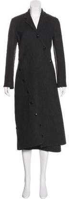 Celine Asymmetrical Wool Coat
