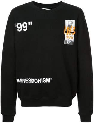 Off-White crew neck sweatshirt