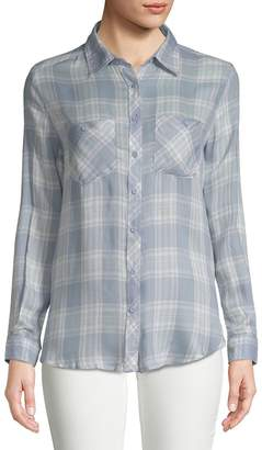 Ppla Women's Markie Plaid Button-Down Shirt