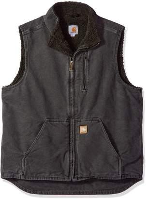 Carhartt Men's Big & Tall Mock Neck Vest