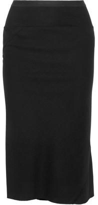 Rick Owens - Wool Skirt - Black $680 thestylecure.com