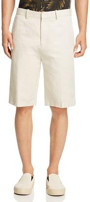 Vince Cotton Linen Trouser Shorts $225 thestylecure.com