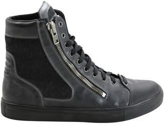 Maison Margiela Leather high trainers