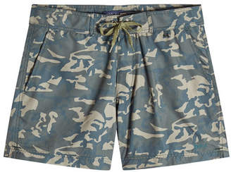 Woolrich Printed Swim Shorts