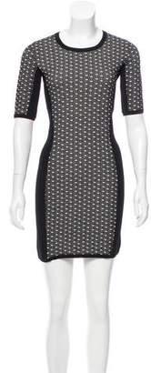 Rag & Bone Jacquard Mini Dress
