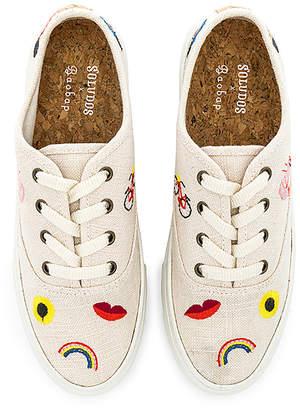 Soludos Embroidered Porto Sneaker