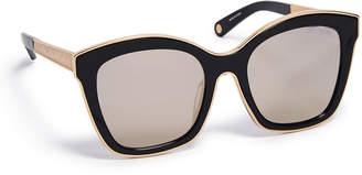 Henri Bendel Gemma Butterfly Sunglasses