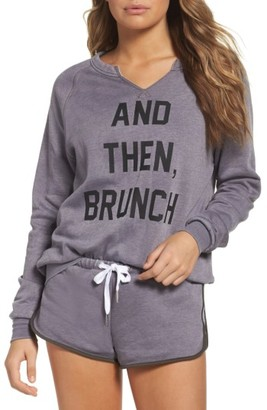 Women's The Laundry Room And Then Brunch Sweatshirt $88 thestylecure.com