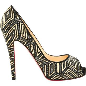 Christian Louboutin Very Privé Cloth Heels
