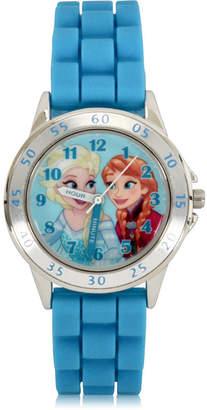 Disney Disney's Frozen Unisex Blue Strap Watch-Fzn9012jc
