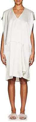 Zero Maria Cornejo Women's Slub-Twill Cap-Sleeve Shift Dress