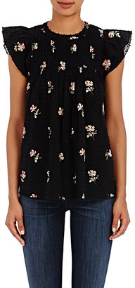Ulla Johnson Women's Astrid Blouse $200 thestylecure.com