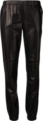 Michael Kors Leather Track Pant