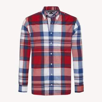 f95b007e Tommy Hilfiger Multicolour Check Pure Cotton Shirt