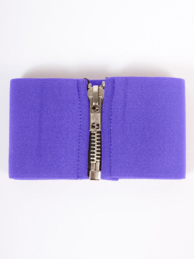 American Apparel Wide Elastic Zipper Belt