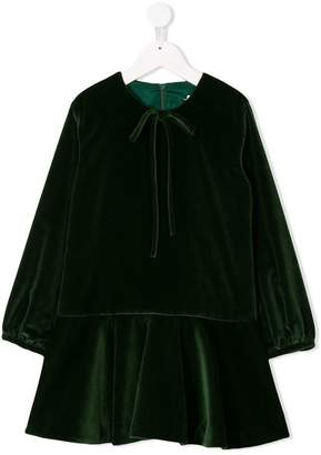 Oscar de la Renta Kids long-sleeve dress