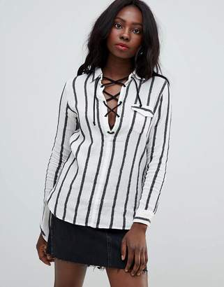 Glamorous stripe blouse
