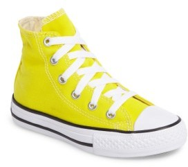 Girl's Converse Chuck Taylor Seasonal High Top Sneaker $29.95 thestylecure.com