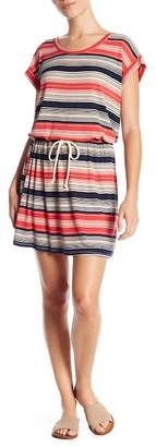 Vanity Room Knit Striped Dress (Petite Size Available)