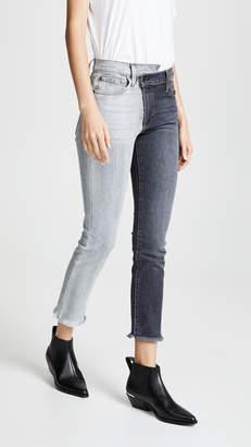 Alice + Olivia AO.LA by High Rise Boyfriend Jeans