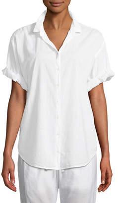 Xirena Channing Short-Sleeve Lounge Shirt