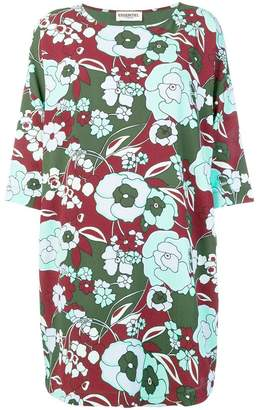 Essentiel Antwerp floral short-sleeve shift dress