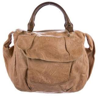 Marni Distressed Leather Satchel