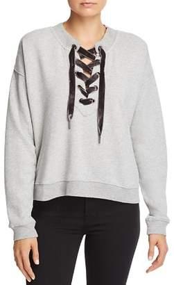 Rails Ryan Lace-Up Sweatshirt