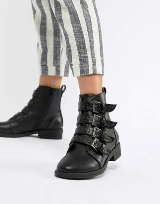 Asos DESIGN Ackton Studded Ankle Boots
