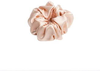 Teya Silk Scrunchie Trish Pink