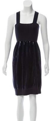 Fendi Sleeveless Embellished Dress