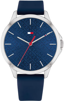 Tommy Hilfiger Women Navy Blue Silicone Strap Watch 38mm