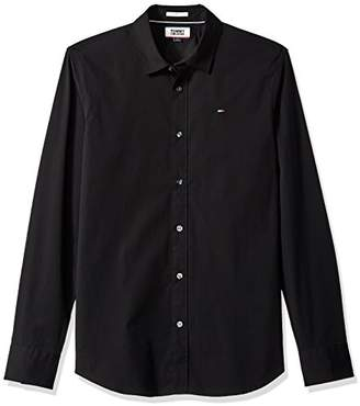 Tommy Hilfiger Tommy Jeans Men's Button Down Shirt Original Stretch