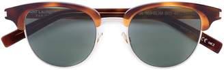 Saint Laurent Eyewear half frame sunglasses