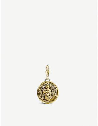 Thomas Sabo Aquarius gold-plated zodiac charm