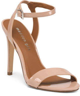 One Band Ankle High Heel Sandals