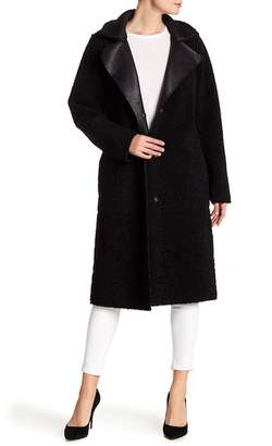 Velvet by Graham & Spencer Faux Suede & Faux Shearling Lined Jacket