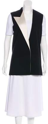 Lanvin Wool Button-Up Vest