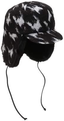 Eugenia Kim Sammy Houndstooth Trapper Hat